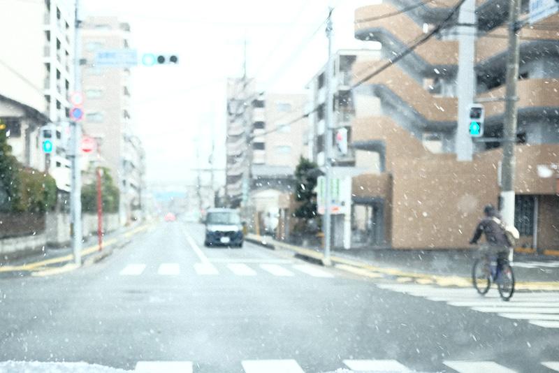 雪がふった日